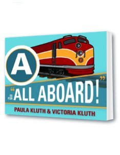A is for 'All Aboard' book