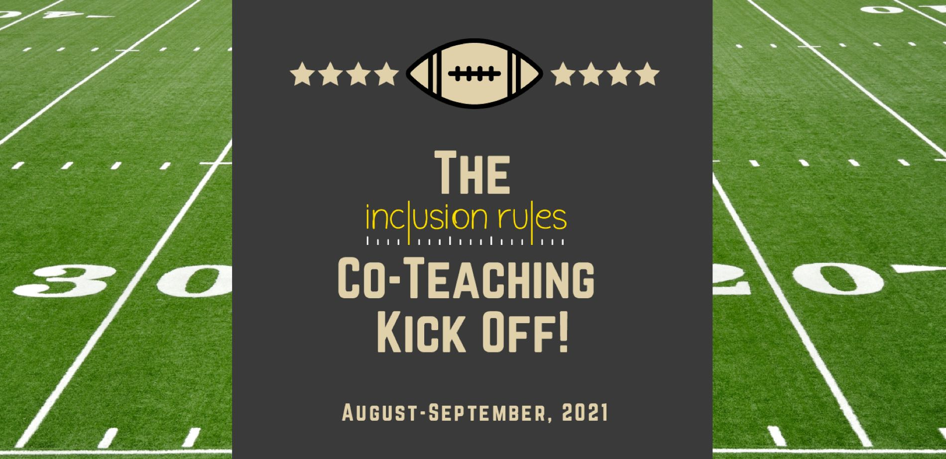 Co-Teaching Kick Off Banner
